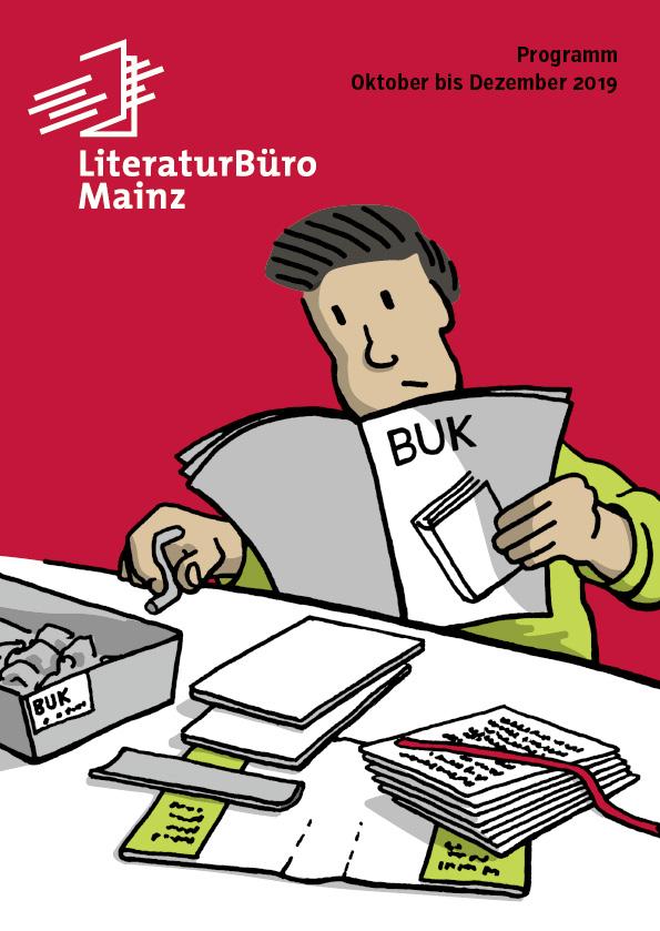 Cover Programmheft Literaturbüro 2.2019